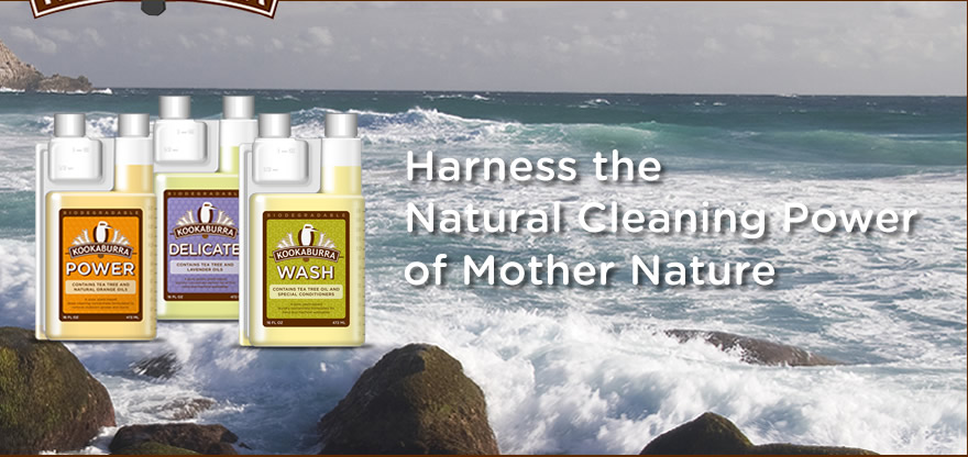 Kookaburra Natural Cleaning Products